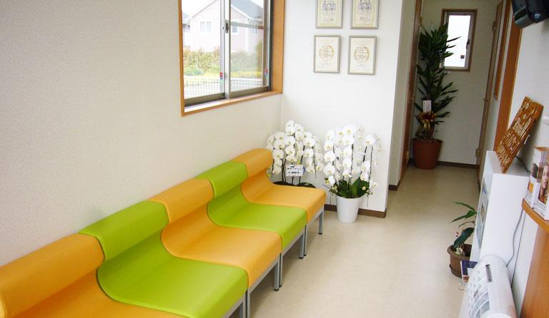 来院しやすい快適な院内環境